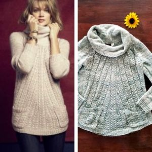 GUINEVERE TURTLENECK SWEATER BY ANTHROPOLOGIE